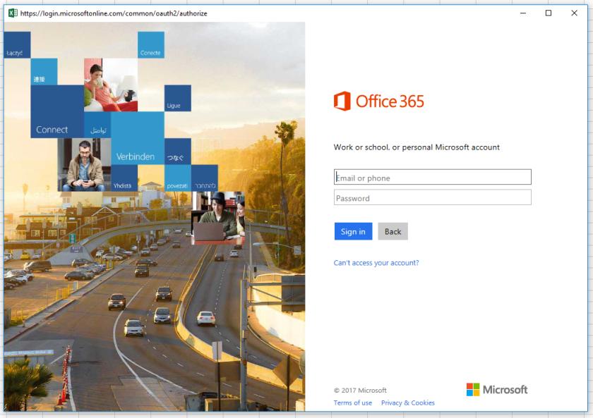 O365 login
