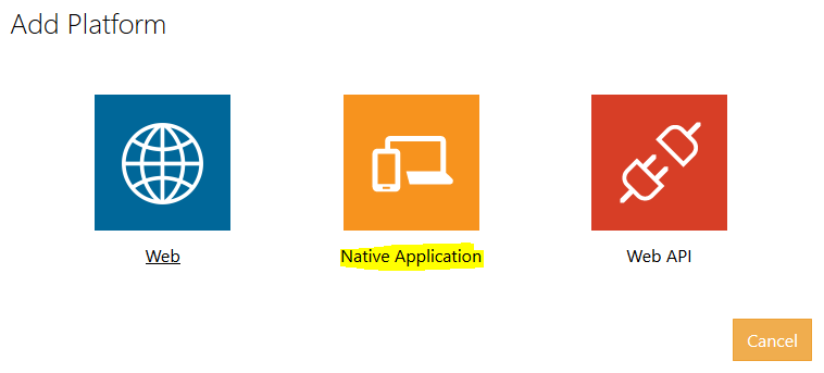 8 Native platform